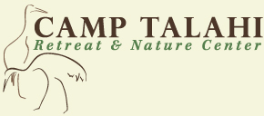 Camp Talahi Retreat and Nature Center crane logo
