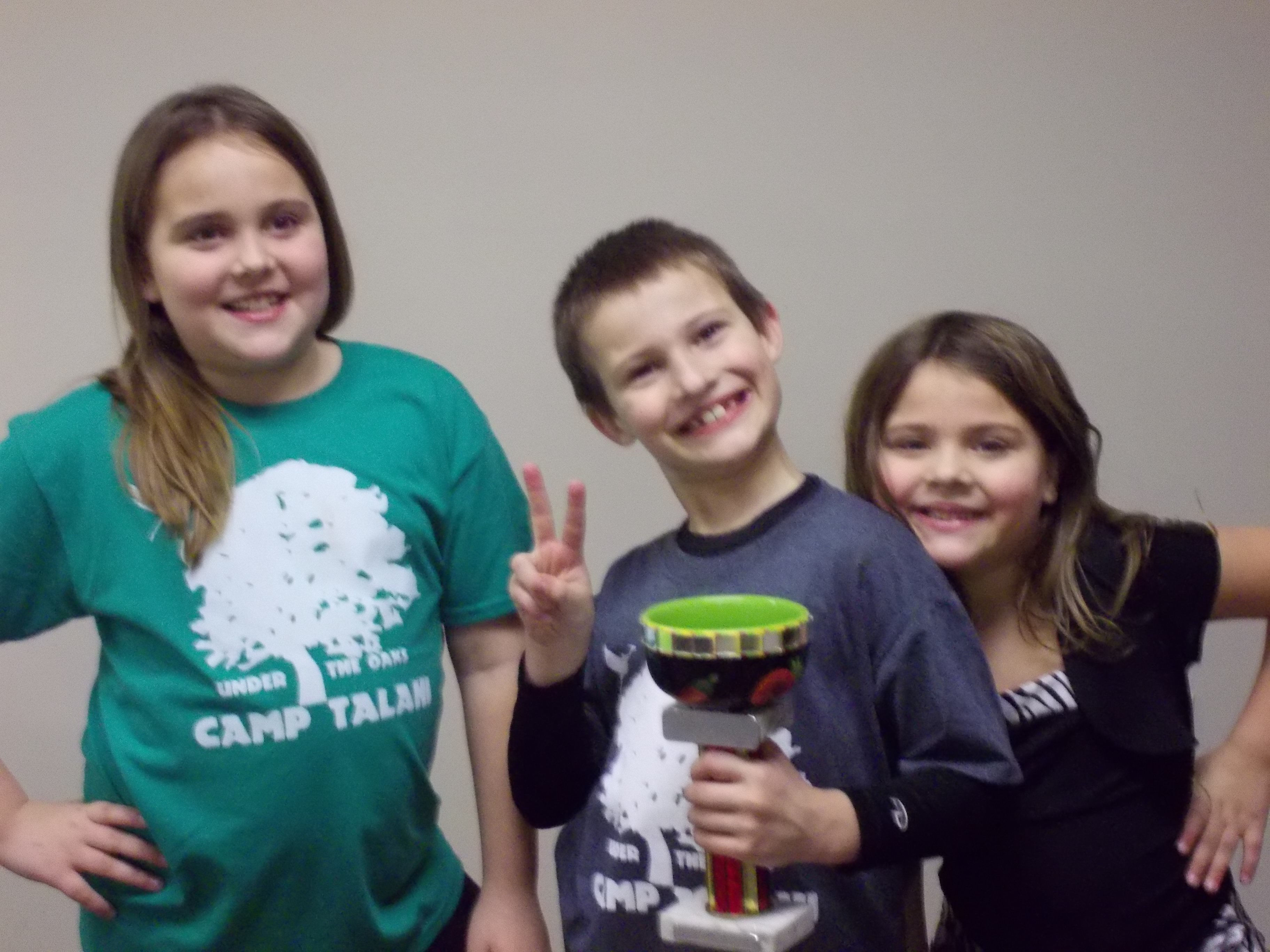 2013 Camp Talahi Chili Cook Off Winners!