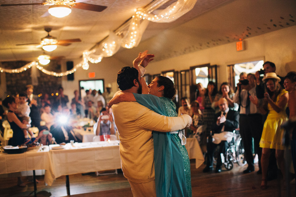 The couple's first dance.  (photo by Timothy Brandt)
