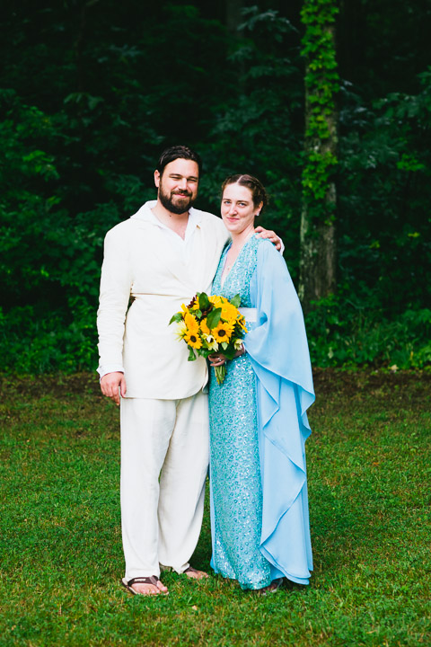 Michael and Julie's Camp Talahi wedding (photos by Timothy Brandt)