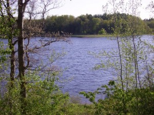 The view of the lake from vesper hill